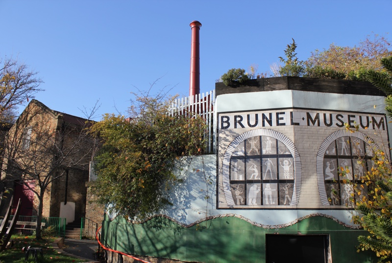 View of the Brunel Museum from the south side