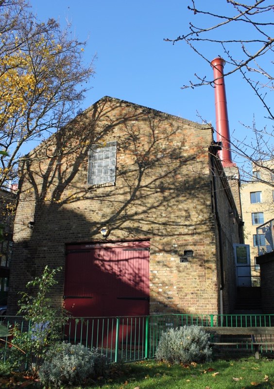 Exterior of the Brunel Museum engine house
